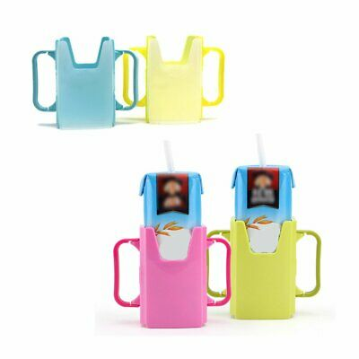 Baby Cup Holder Adjustable Milk Carton Box Container Milk Overflow Water Box N9
