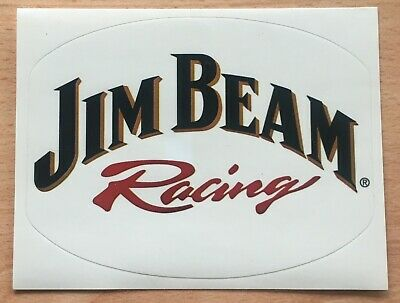 Jim Beam Racing Sticker New