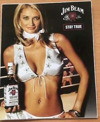 Jim Beam  Sticker New