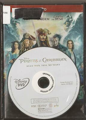 Pirates of the Caribbean: Dead Men Tell No Tales (DVD 2017) U.S. Issue Disc Only