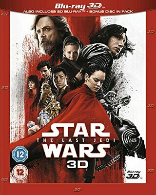Star Wars: The Last Jedi [Blu-ray 3D] [2017] [Region Free] - DVD  KQLN The Cheap