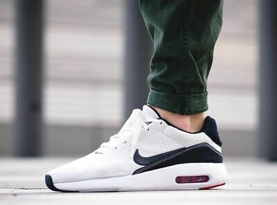 f2f1d38cb5fe5 MEN'S NIKE AIR Max Modern Flyknit Running Shoes Sail/Obsidian 876066 Size  9.5