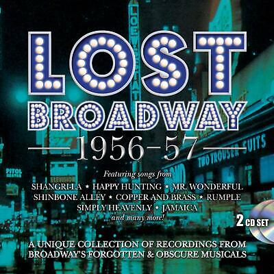 Lost Broadway 1956-1957 Audio CD PREORDER 07