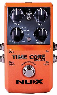 NUX | Time Core Deluxe Delay Pedal | Guitar FX