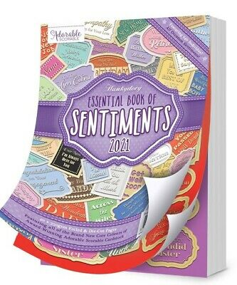 Hunkydory Essential Book of CHRISTMAS 2019 Sentiments 40 Sheets / 660 Sentiments
