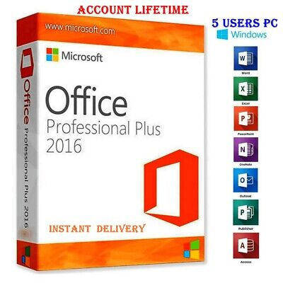 Microsoft Office 365 2019 5PC/5TB//Win-Mac/32,64Bit