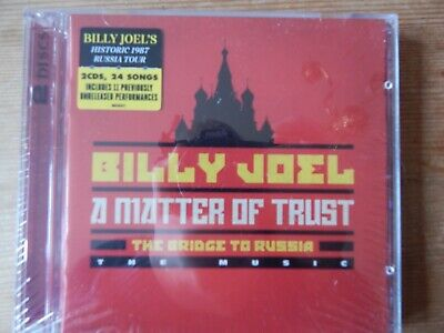 Billy Joel - Deluxe 2CD - A Matter of Trust - LIVE USSR - ORIG Columbia Records