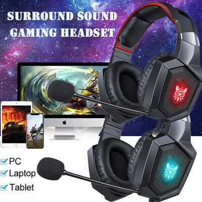 Gaming Headset Stereo Surround Headphone Wired Mic For PS4 Laptop Xbox One AU