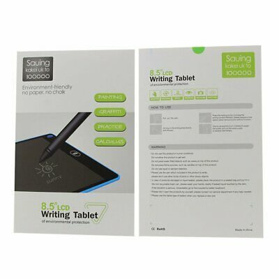 Portable LCD Writing Tablet Handwriting Pads Board Ultra-thin for Kid Drawing