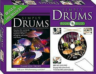 Simply Drums Book and DVD (PAL)