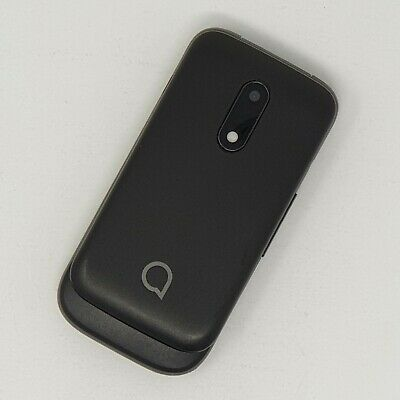 Alcatel 2053X 2G - Flip Mobile Phone - Black Good Condition - Unlocked Fast P&P