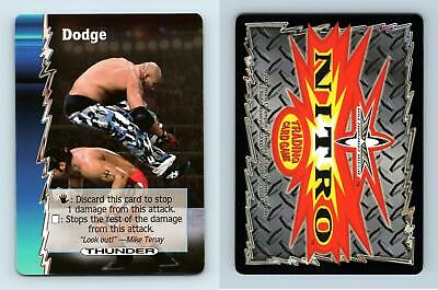 Dodge - WCW Nitro 2000 Common TCG Card