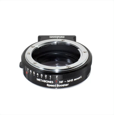 Metabones Speed Booster 0.71x Nikon G / F a M43