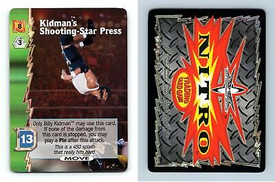 Kidman's Shooting-Star Press - WCW Nitro 2000 Rare TCG Card