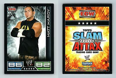 Elijah Burke ECW Card Official WWE Slam Attax Verzamelingen