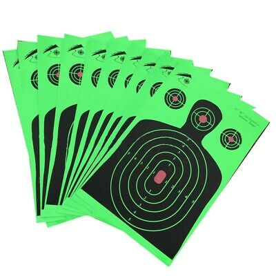 10 Pack Realistic Targets for Shooting  sticker paper,roll packaged not folded