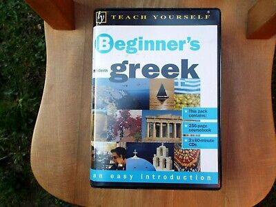 Teach Yourself Beginner's Greek 2 Cd And Book - Very Good Condition