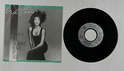 Whitney Houston Didn't We Almost Have It All EU 7in 1987