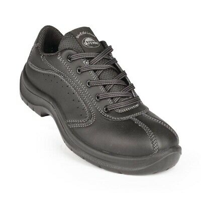 Lites Side Perforated Lace Up Black 46 [A398-46]