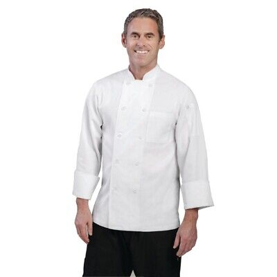 Chef Works Unisex Le Mans Chefs Jacket White XL [A371-XL]