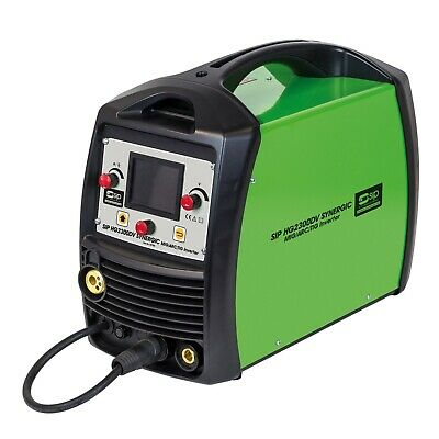 3 in 1 Dual Voltage Synergic Mig Tig Arc Inverter Welder SIP 05780 HG2300   E999