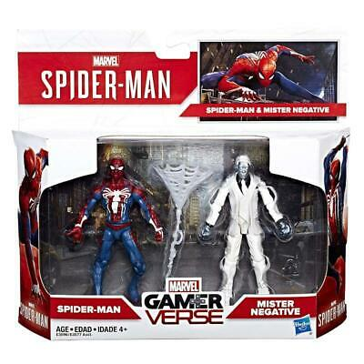 Marvel Gamerverse Spiderman & Mister Negative 2Pk Figure Set