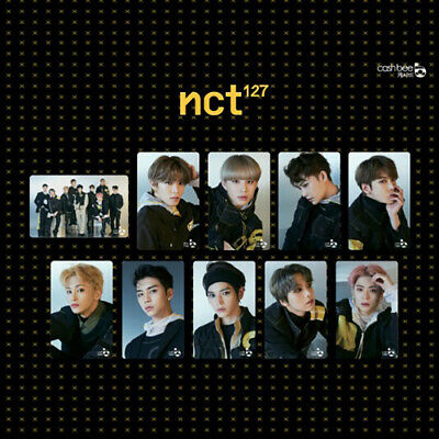 [Pre] SMTOWN NCT127 the 4th Mini Album [We Are Superhuman] Official Cashbee Card