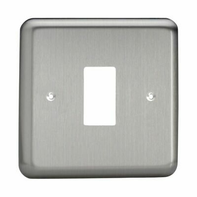 Single Plate Varilight XYPGY2.CU Urban Polished Copper 2 Gang Grid Plate