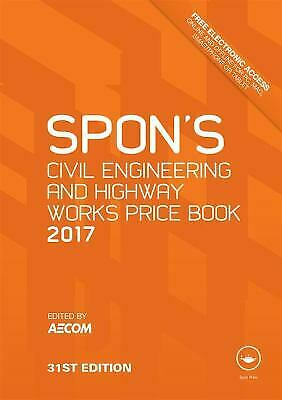 Spon's Civil Engineering and Highway Works Price Book 2017 (Spon's Price Books)