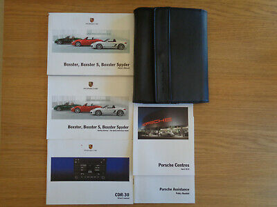 Porsche Boxster/Boxster S/Spyder Owners Handbook/Manual and Pack 09-12