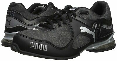 PUMA WOMENS CELL Riaze Running Shoe New Without Box (Black