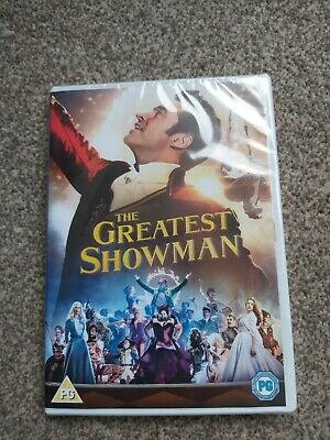 The Greatest Showman DVD. New & Sealed