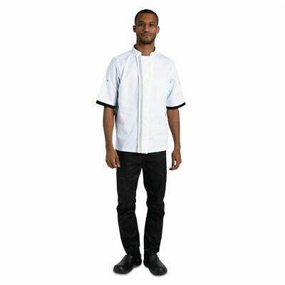 Whites Southside Unisex Chefs Jacket White XL [B998-XL]