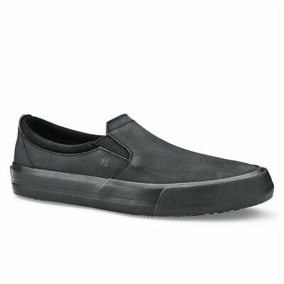 Shoes for Crews Ladies Leather Slip On Size 39 [BB162-39]