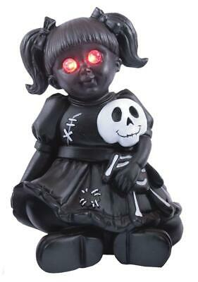 Lighted Eyes Doll VICIOUS MOMENTS Halloween Outdoor HAUNTED HOUSE PROP DECOR