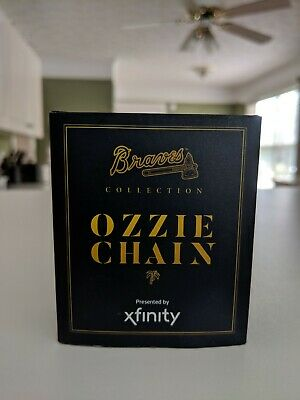 Ozzie Albies Replica Chain Necklace Atlanta Braves Giveaway 06/19/19