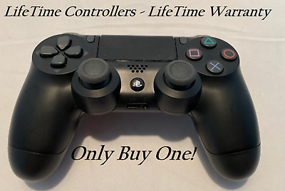 PS4 Sony DualShock 4 Wireless Controller PlayStation 4 Black - LifeTime Warranty