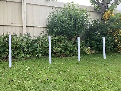 Grass verge post Protection 4 X Posts & Stakes 30CM High