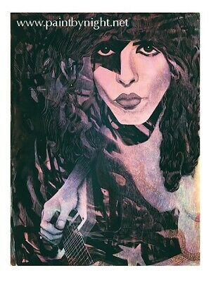 Paul Stanley KISS Signed And Numbered Portait Print
