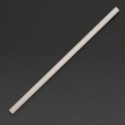 Fiesta Green Compostable CPLA Smoothie Straws Clear (Set of 250) [DA560]