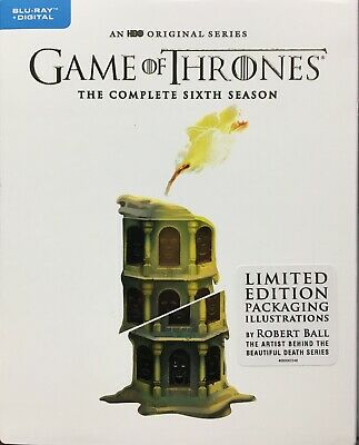 Game Of Thrones Sixth Season Blu Ray Limited Edition Packaging Robert Ball New