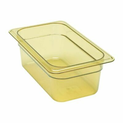 Cambro High Heat 1/4 Gastronorm Food Pan 100mm [DW490]