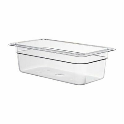Cambro Polycarbonate 1/3 Gastronorm Pan 100mm [DM734]
