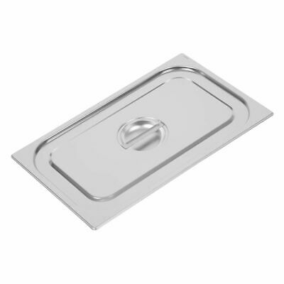 Vogue Heavy Duty Stainless Steel 1/1 Gastronorm Pan Lid [DW455]