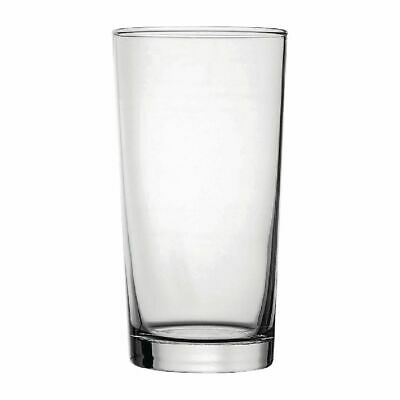 Utopia Nucleated Toughened Conical Beer Glasses 560ml CE Marked (Set of 48) [DY2