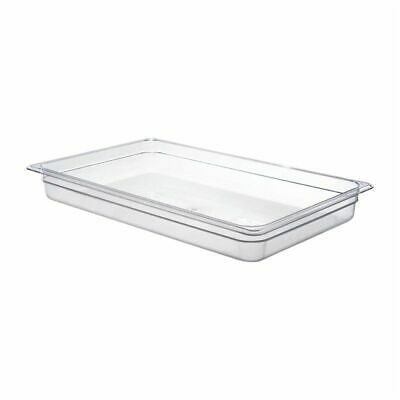 Cambro Polycarbonate 1/1 Gastronorm Pan 65mm [DM740]