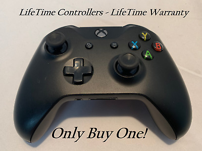 XBOX ONE S Wireless Controller Bluetooth W/ 3.5 Jack - Black - LifeTime Warranty