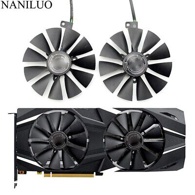 T129215SH FDC10U12S9-C Cooler Fan For ASUS GeForce RTX2080 RTX2080Ti GAMING Card