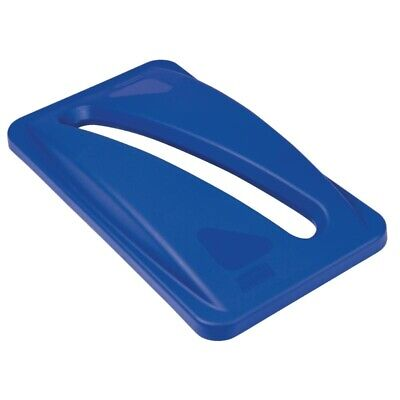 Rubbermaid Blue Paper Lid [F638]