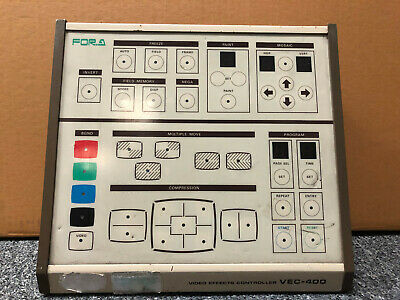 FOR.A fora VEC-400 VIDEO EFFECTS CONTROLLER (1980s)